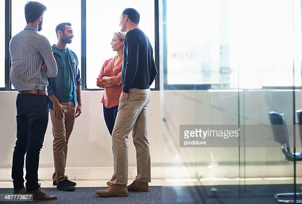 Discuter avec l'équipe