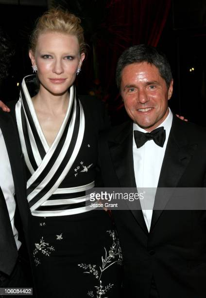 Cate Blanchett and Brad Grey Chairman of Paramount