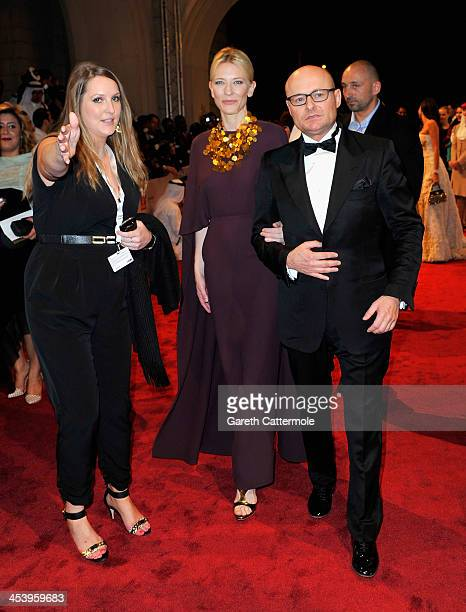 Cate Blanchett and Georges Kern attend the Opening Night Gala of the 10th Annual Dubai International Film Festival held at the Madinat Jumeriah...