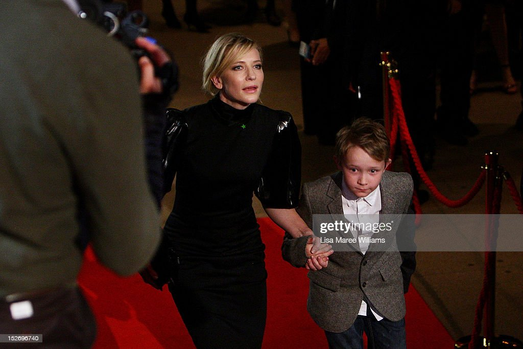 <a gi-track='captionPersonalityLinkClicked' href=/galleries/search?phrase=Cate+Blanchett&family=editorial&specificpeople=201621 ng-click='$event.stopPropagation()'>Cate Blanchett</a> and son Roman arrive at the 2012 Helpmann Awards at the Sydney Opera House on September 24, 2012 in Sydney, Australia.