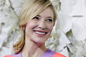 Cate Blanchett arrives at the Australian premiere of Disney's Cinderella at the State Theatre on March 15 2015 in Sydney Australia