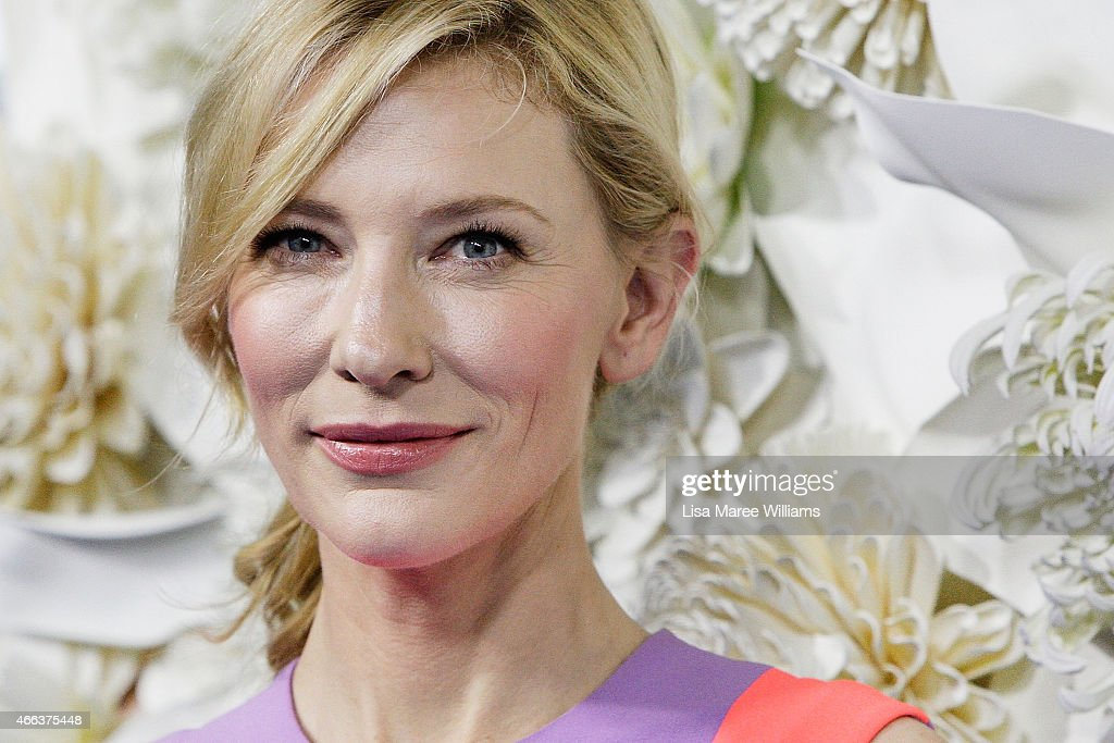<a gi-track='captionPersonalityLinkClicked' href=/galleries/search?phrase=Cate+Blanchett&family=editorial&specificpeople=201621 ng-click='$event.stopPropagation()'>Cate Blanchett</a> arrives at the Australian premiere of Disney's Cinderella at the State Theatre on March 15, 2015 in Sydney, Australia.
