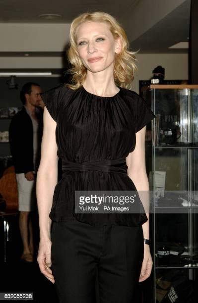 Cate Blanchett arriving for the UK premiere of Little Fish at the Curzon Soho central LondonSam Neill and his stepdaughter Maiko arrive for the UK...