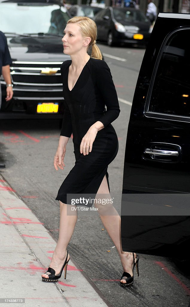 Cate Blanchett as seen on July 23, 2013 in New York City.