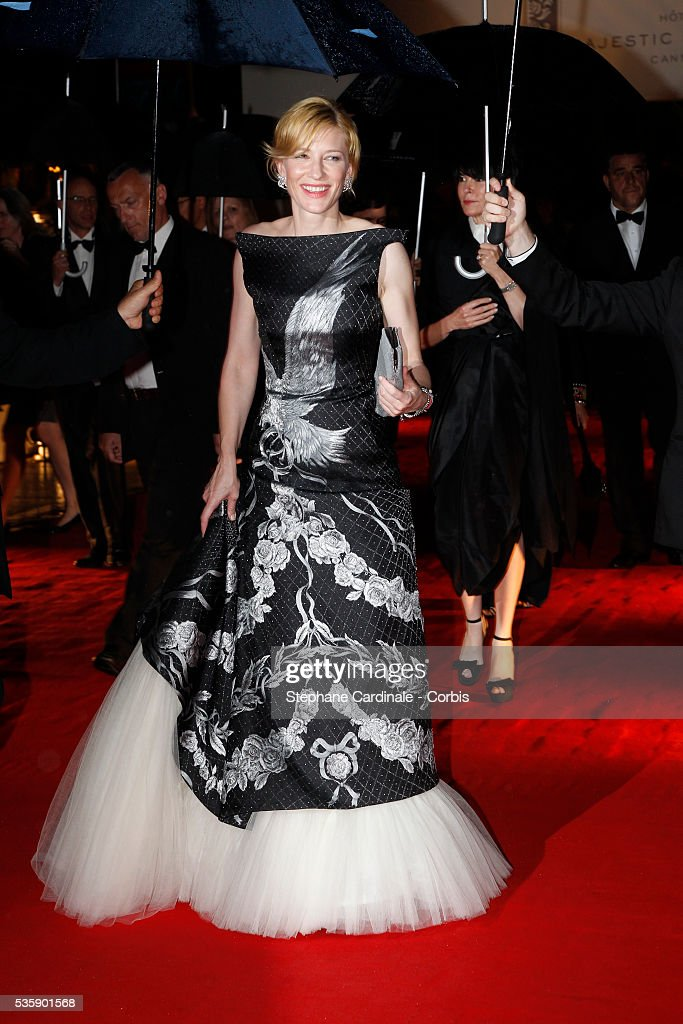 Cate Blanchett at the Opening Dinner during the 63rd Cannes International Film Festival.