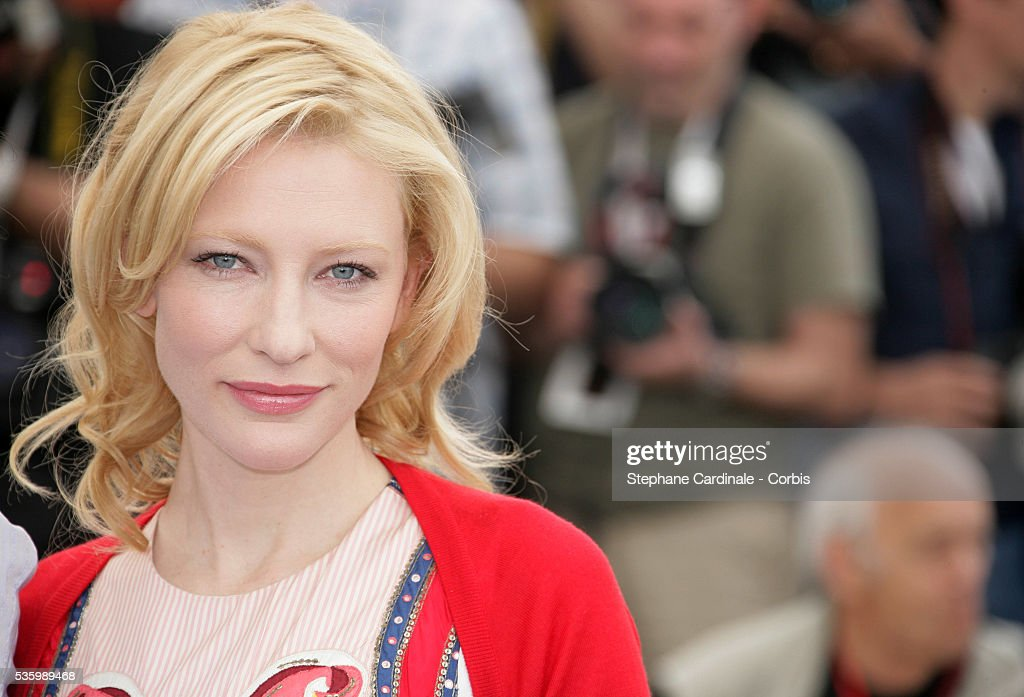 Cate Blanchett at the photo call of 'Babel' during the 59th Cannes Film Festival.