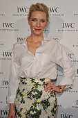 """Cate Blanchett attended the exclusive IWC Gala Dinner """"Timeless Portofino"""" hosted by IWC CEO Georges Kern at the Zurich Film Festival on September 27..."""