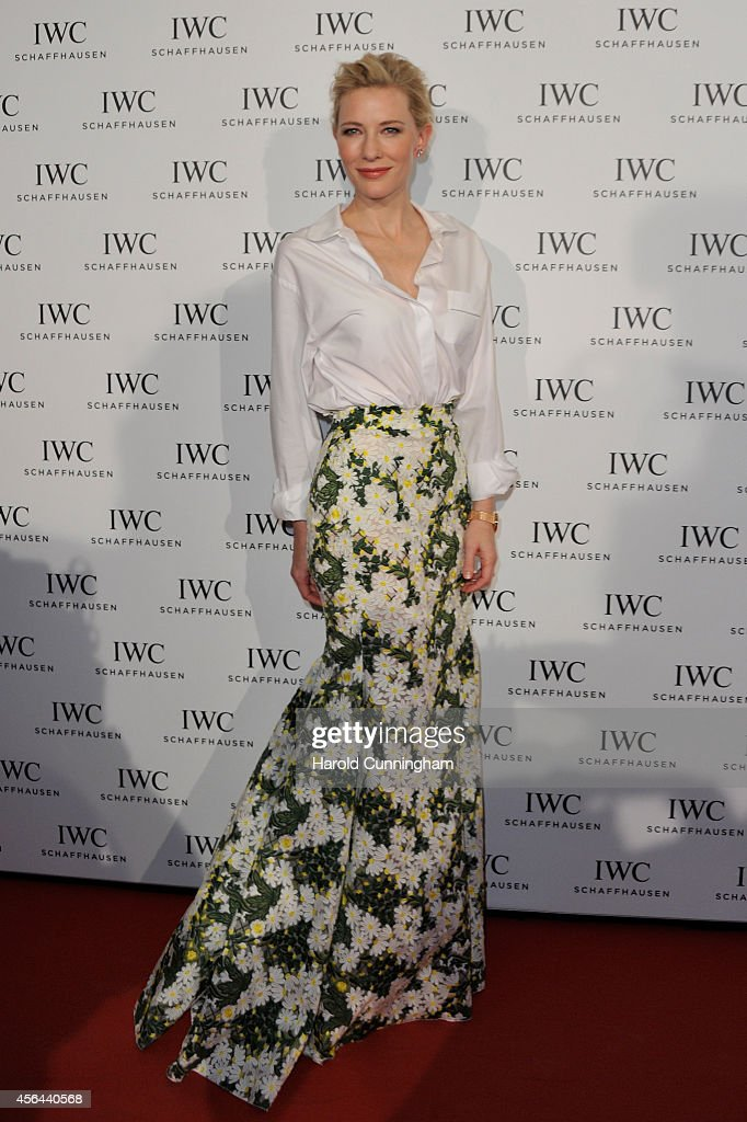 "Cate Blanchett attended the exclusive IWC Gala Dinner ""Timeless Portofino"" hosted by IWC CEO Georges Kern at the Zurich Film Festival on September 27..."