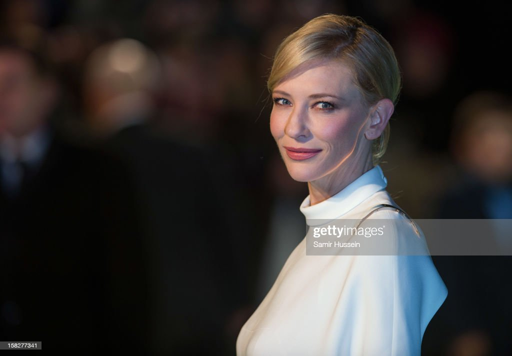 <a gi-track='captionPersonalityLinkClicked' href=/galleries/search?phrase=Cate+Blanchett&family=editorial&specificpeople=201621 ng-click='$event.stopPropagation()'>Cate Blanchett</a> attends a royal film performance of 'The Hobbit: An Unexpected Journey' at The Empire Leicester Square on December 12, 2012 in London, England.