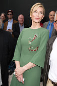 Cate Blanchett attends a the opening of the Australian Pavilion at the Venice Biennale on May 5 2015 in Venice Italy