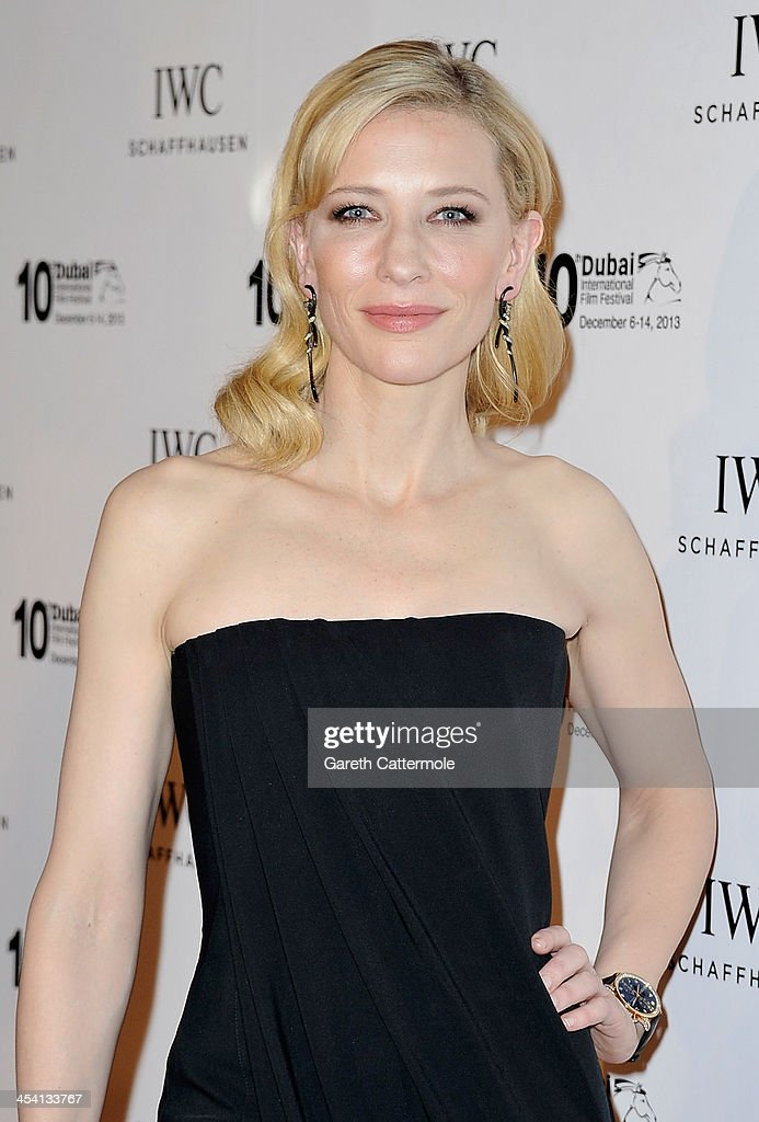 Cate Blanchett attends 'For The Love of Cinema - IWC Filmmakers Award' during day two of the 10th Annual Dubai International Film Festival held at the One and Only Mirage Hotel on December 7, 2013 in Dubai, United Arab Emirates.