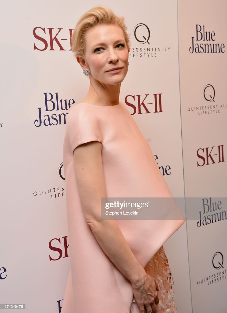 Cate Blanchett attends the 'Blue Jasmine' New York Premiere at the Museum of Modern Art on July 22, 2013 in New York City.
