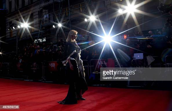Cate Blanchett attends the 'Carol' America Express Gala during the BFI London Film Festival at the Odeon Leicester Square on October 14 2015 in...
