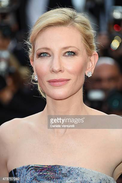 Cate Blanchett attends the 'Carol' Premiere during the 68th annual Cannes Film Festival on May 17 2015 in Cannes France