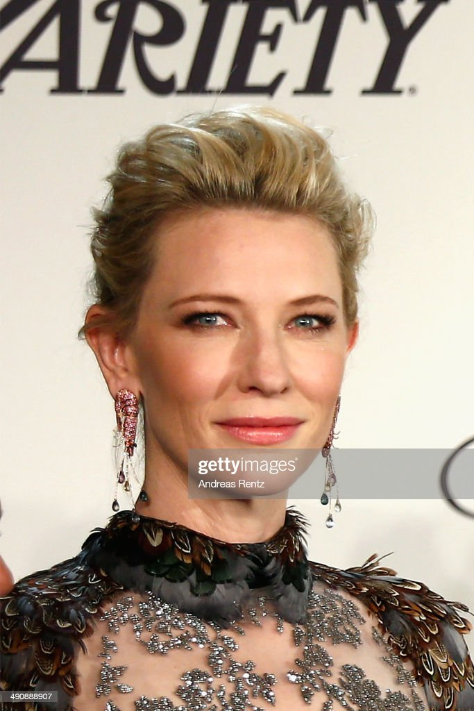 <a gi-track='captionPersonalityLinkClicked' href=/galleries/search?phrase=Cate+Blanchett&family=editorial&specificpeople=201621 ng-click='$event.stopPropagation()'>Cate Blanchett</a> attends the Chopard Trophy during the 67th Annual Cannes Film Festival on May 15, 2014 in Cannes, France.