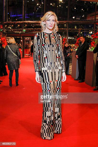 Cate Blanchett attends the 'Cinderella' Premiere 65th Berlinale International Film Festival on February 13 2015 in Berlin Germany