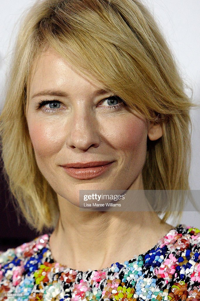 Cate Blanchett attends the 'How To Train Your Dragon 2' Australian premiere at Event Cinemas George Street on June 9, 2014 in Sydney, Australia.