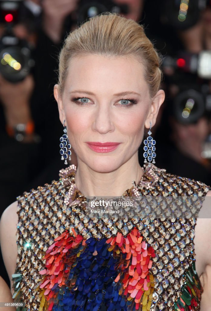 Cate Blanchett attends the 'How To Train Your Dragon 2' Premiere at the 67th Annual Cannes Film Festival on May 16 2014 in Cannes France