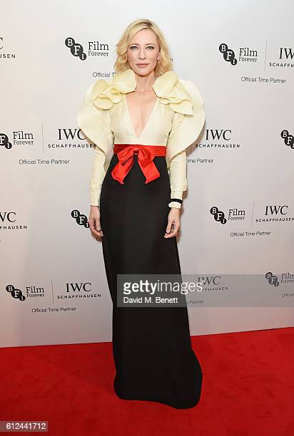 Cate Blanchett attends the IWC Schaffhausen Dinner in Honour of the BFI at Rosewood London on October 4 2016 in London England