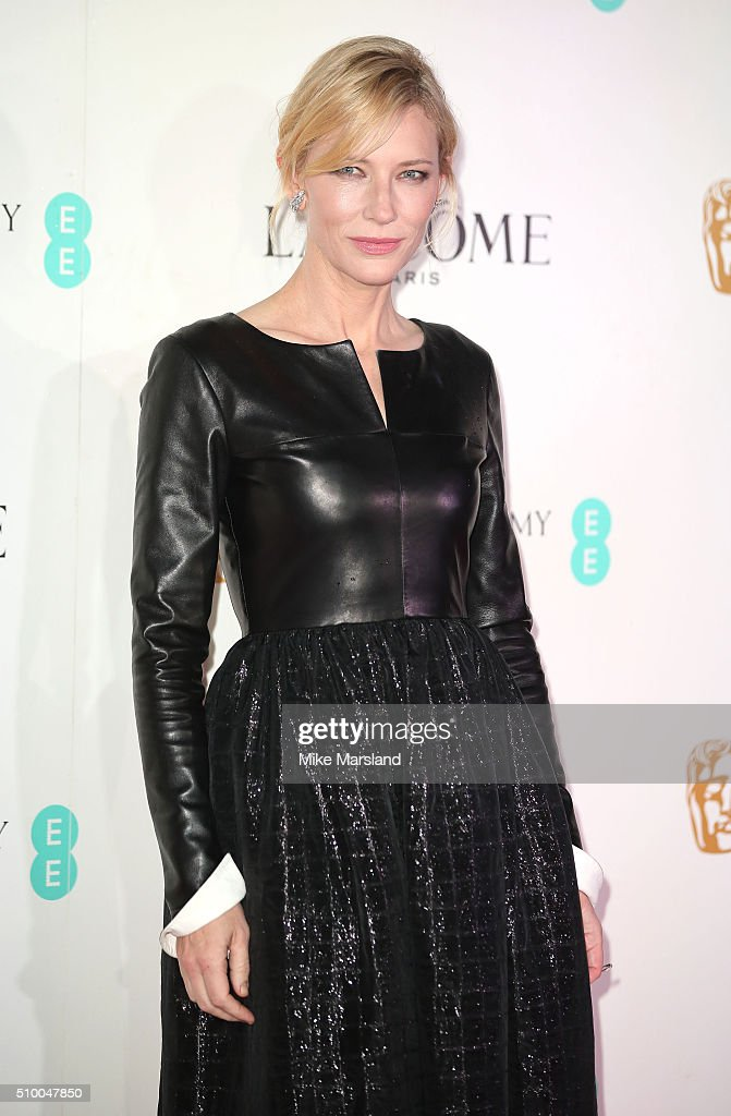 <a gi-track='captionPersonalityLinkClicked' href=/galleries/search?phrase=Cate+Blanchett&family=editorial&specificpeople=201621 ng-click='$event.stopPropagation()'>Cate Blanchett</a> attends the Lancome BAFTA nominees party at Kensington Palace on February 13, 2016 in London, England.