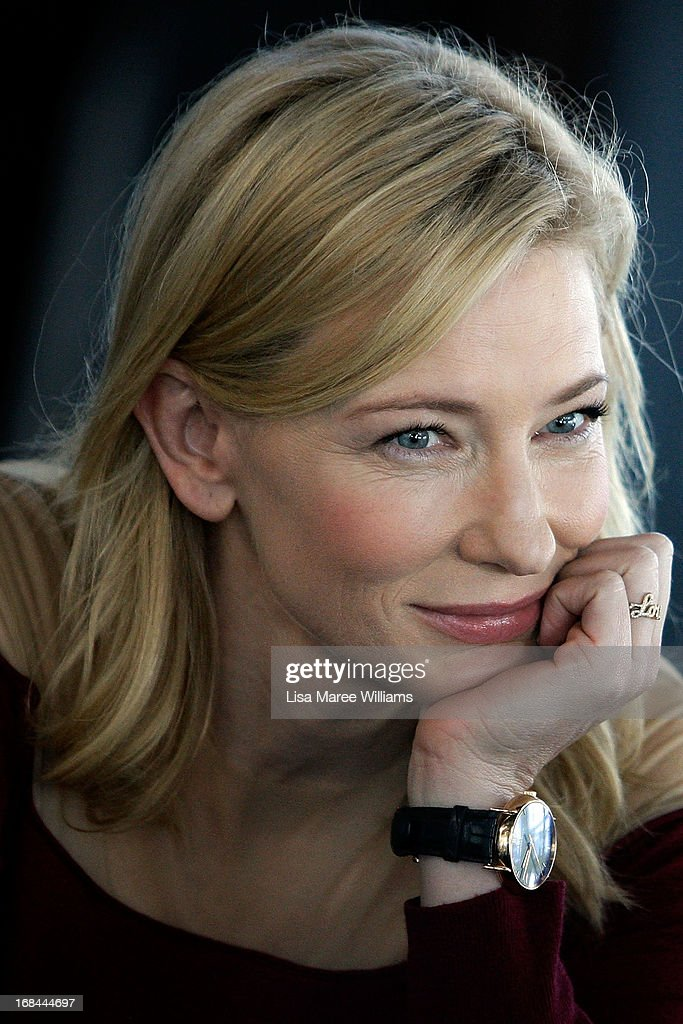 Cate Blanchett attends the launch of 'Suncorp Twenties', a new theatre ticketing initiative on May 10, 2013 in Sydney, Australia.