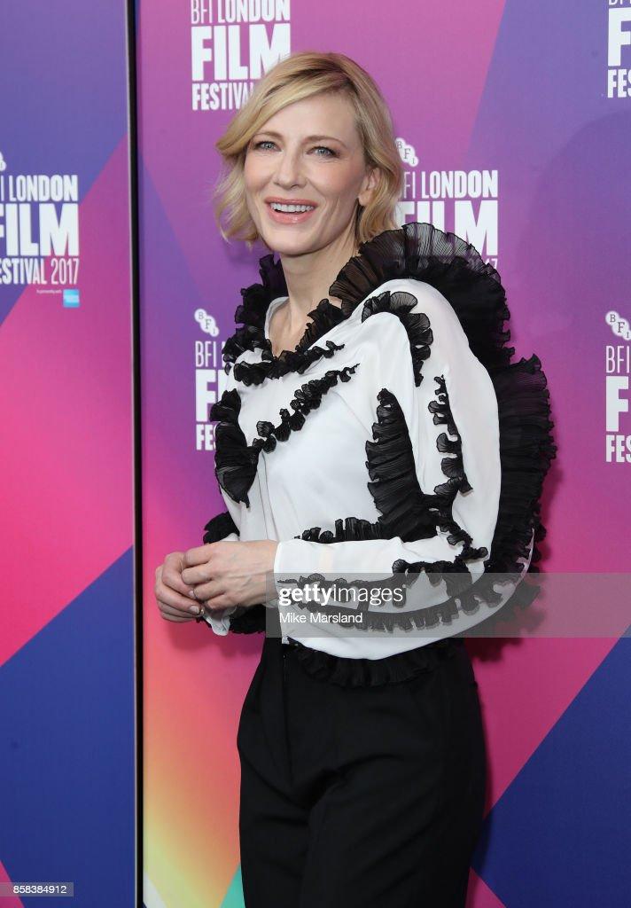 Julian Rosefeldt & Cate Blanchett event at the 61st BFI London Film Festival on October 6, 2017 in London, England.