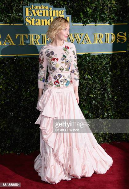 Cate Blanchett attends the London Evening Standard Theatre Awards at the Theatre Royal on December 3 2017 in London England