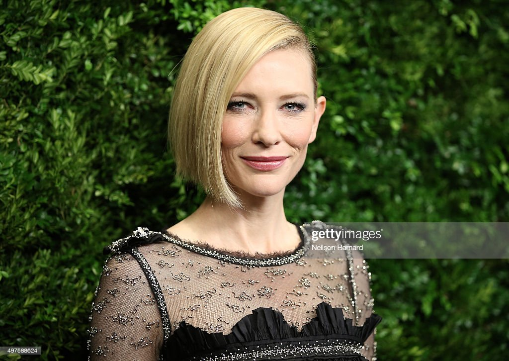 Cate Blanchett attends the Museum of Modern Art's 8th Annual Film Benefit Honoring Cate Blanchett at the Museum of Modern Art on November 17 2015 in...