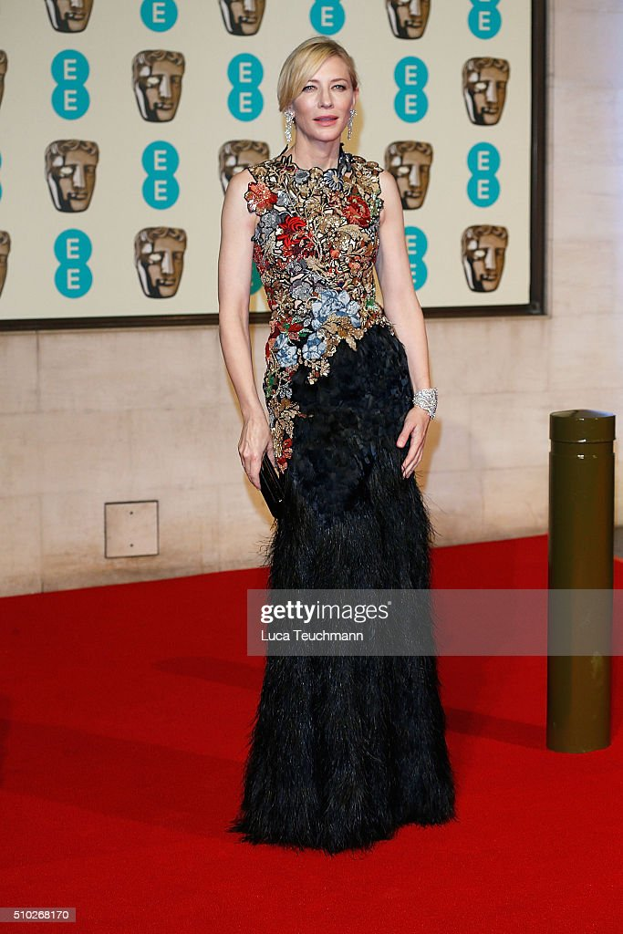 <a gi-track='captionPersonalityLinkClicked' href=/galleries/search?phrase=Cate+Blanchett&family=editorial&specificpeople=201621 ng-click='$event.stopPropagation()'>Cate Blanchett</a> attends the official After Party Dinner for the EE British Academy Film Awards at The Grosvenor House Hotel on February 14, 2016 in London, England.