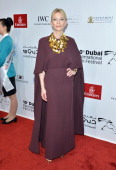 Cate Blanchett attends the Opening Night Gala of the 10th Annual Dubai International Film Festival held at the Madinat Jumeriah Complex on December 6...