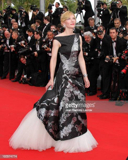 Cate Blanchett attends the Opening Night Premiere of 'Robin Hood' at the Palais des Festivals during the 63rd Annual International Cannes Film...