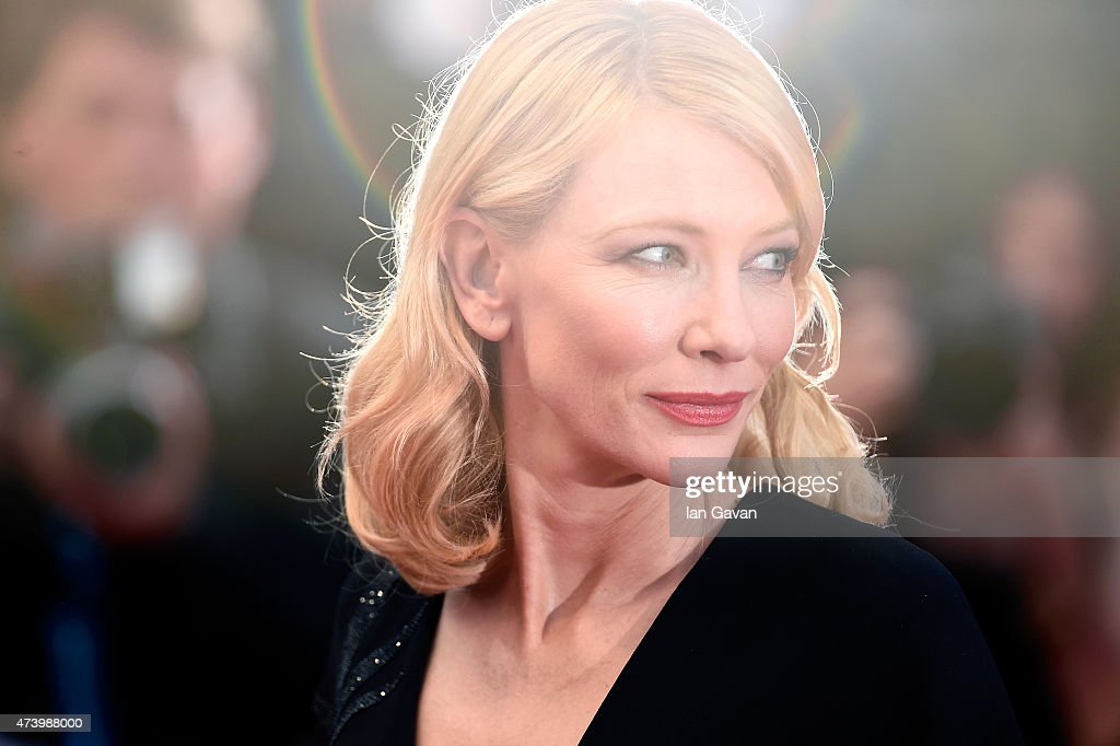 <a gi-track='captionPersonalityLinkClicked' href=/galleries/search?phrase=Cate+Blanchett&family=editorial&specificpeople=201621 ng-click='$event.stopPropagation()'>Cate Blanchett</a> attends the Premiere of 'Sicario' during the 68th annual Cannes Film Festival on May 19, 2015 in Cannes, France.