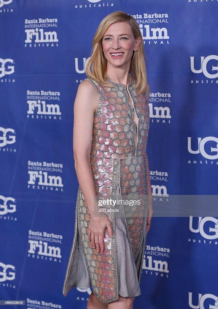 Cate Blanchett attends the presentation of the Outstanding Performer Award at the 29th Santa Barbara International Film Festival held at Arlington Theatre on February 1, 2014 in Santa Barbara, California.