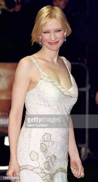 Cate Blanchett Attends The Royal Charity Premiere Of 'Charlotte Gray' In London'S West End