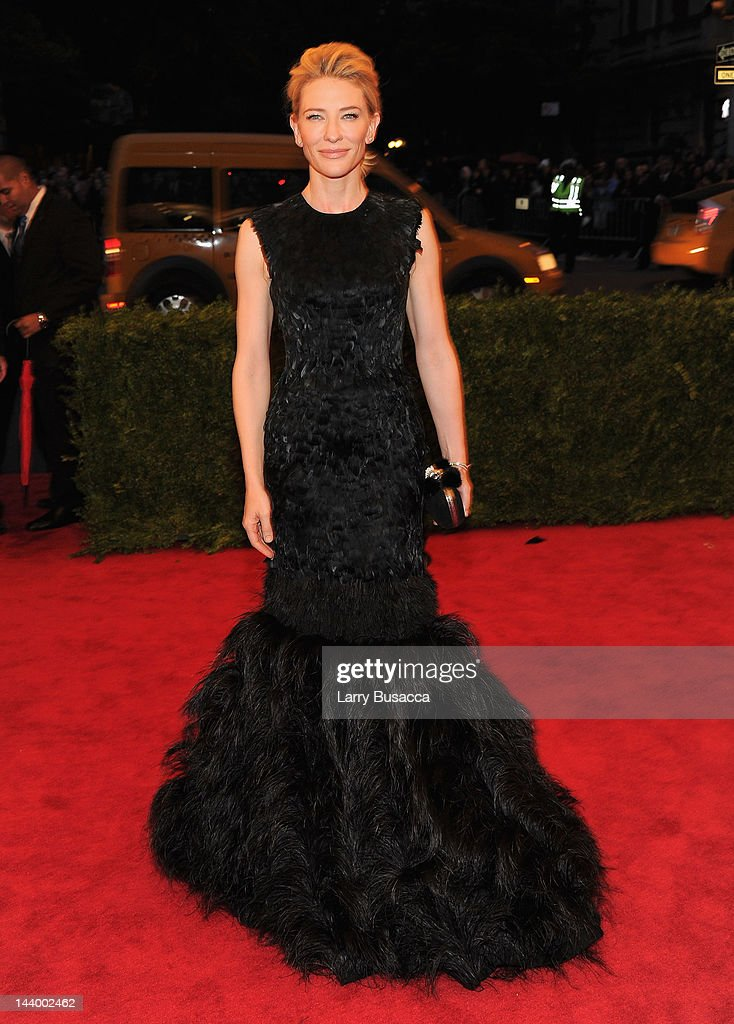 <a gi-track='captionPersonalityLinkClicked' href=/galleries/search?phrase=Cate+Blanchett&family=editorial&specificpeople=201621 ng-click='$event.stopPropagation()'>Cate Blanchett</a> attends the 'Schiaparelli And Prada: Impossible Conversations' Costume Institute Gala at the Metropolitan Museum of Art on May 7, 2012 in New York City.