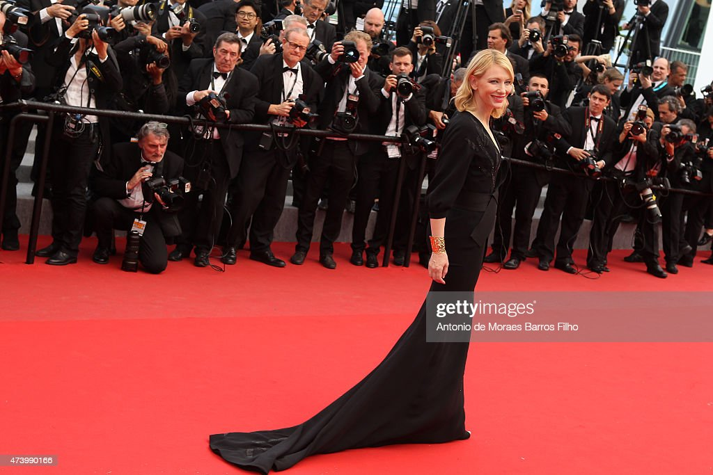 Cate Blanchett attends the 'Sicario' premiere during the 68th annual Cannes Film Festival on May 19, 2015 in Cannes, France.