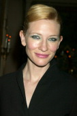 Cate Blanchett during A Special Screening of 'Veronica Guerin' After Party September 92003 at Hotel Plaza Athenee in New York City New York United...