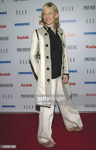 Cate Blanchett during Miramax PreOscar Party and 25th Anniversary Celebration Arrivals at Pacific Design Center in West Hollywood California United...