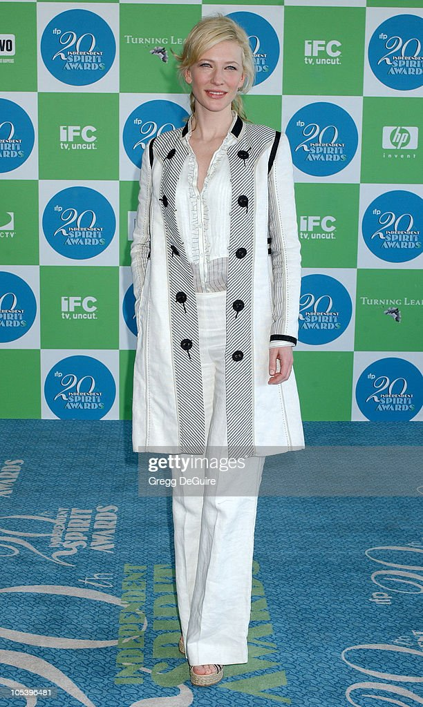 Cate Blanchett during The 20th Annual IFP Independent Spirit Awards Arrivals in Santa Monica California United States