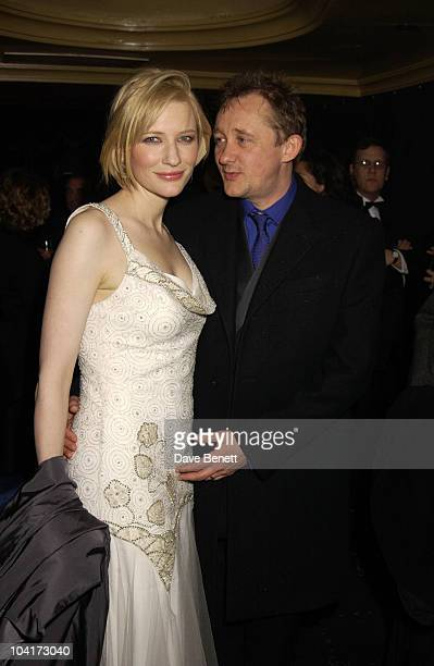 Cate Blanchett Husband Andrew Upton Royal Charity Premiere Of 'Charlotte Gray' Odeon Leicester Square London