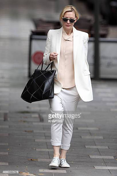 Cate Blanchett is seen on March 13 2015 in Sydney Australia