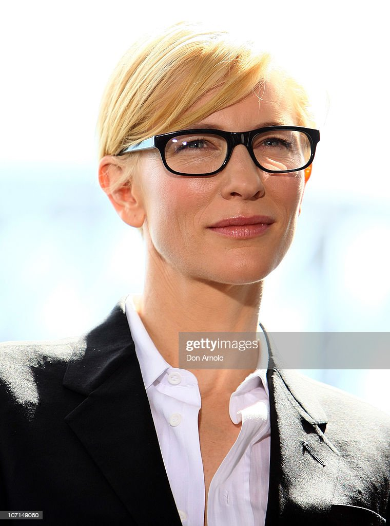 <a gi-track='captionPersonalityLinkClicked' href=/galleries/search?phrase=Cate+Blanchett&family=editorial&specificpeople=201621 ng-click='$event.stopPropagation()'>Cate Blanchett</a> looks on at an event to celebrate the 'switch-on' of the Sydney Theatre Company's rooftop solar panels at Sydney Theatre Company on November 26, 2010 in Sydney, Australia. The panels are part of the vision of Sydney Theatre Company's Artistic Directors, Andrew Upton and <a gi-track='captionPersonalityLinkClicked' href=/galleries/search?phrase=Cate+Blanchett&family=editorial&specificpeople=201621 ng-click='$event.stopPropagation()'>Cate Blanchett</a> to show that all buildings, including heritage buildings like the STC's home at The Wharf on pier 4/5 can be more sustainable.