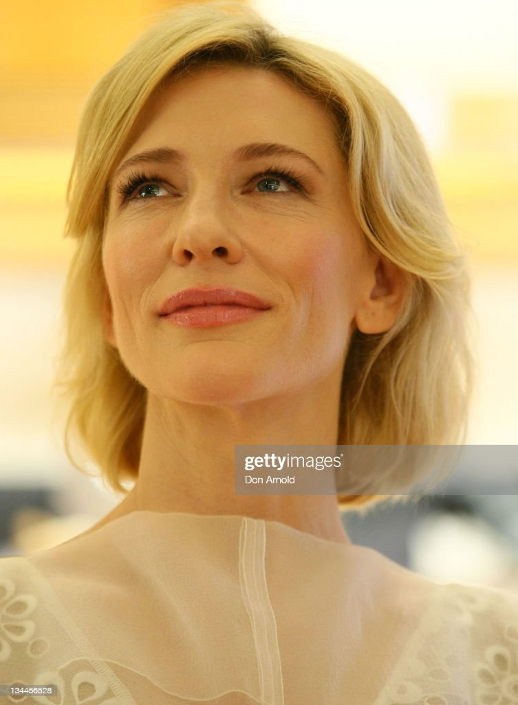 <a gi-track='captionPersonalityLinkClicked' href=/galleries/search?phrase=Cate+Blanchett&family=editorial&specificpeople=201621 ng-click='$event.stopPropagation()'>Cate Blanchett</a> poses for the media at the official opening of the newest Louis Vuitton Maison at King and George streets on December 2, 2011 in Sydney, Australia. The Sydney Louis Vuitton Maison is only the 13th in the world joining Paris, Tokyo, London and New York.