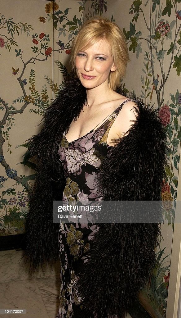 Cate Blanchet, The Empire Movie Awards 2003 Held At The Dorchester Hotel In London
