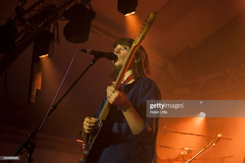 Cate Le Bon performs at Oval Space on May 26, 2016 in London, England.