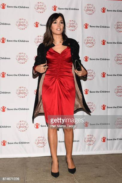Caterina Balivo attends Save The Children Charity Party on November 15 2017 in Milan Italy