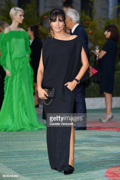 Caterina Balivo attends the Green Carpet Fashion Awards Italia 2017 during Milan Fashion Week Spring/Summer 2018 on September 24 2017 in Milan Italy