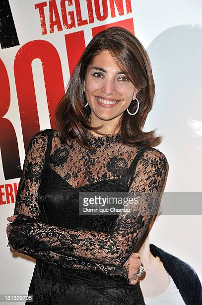Caterina Murino attends 'La Proie' Paris Premiere at UGC Cine Cite Bercy on April 12 2011 in Paris France