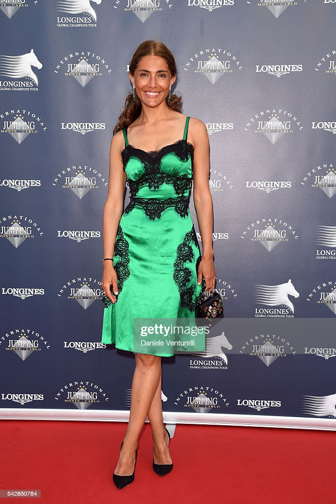 <a gi-track='captionPersonalityLinkClicked' href=/galleries/search?phrase=Caterina+Murino&family=editorial&specificpeople=619334 ng-click='$event.stopPropagation()'>Caterina Murino</a> attends Longines Global Champions Tour of Monaco on June 24, 2016 in Monaco, Monaco.