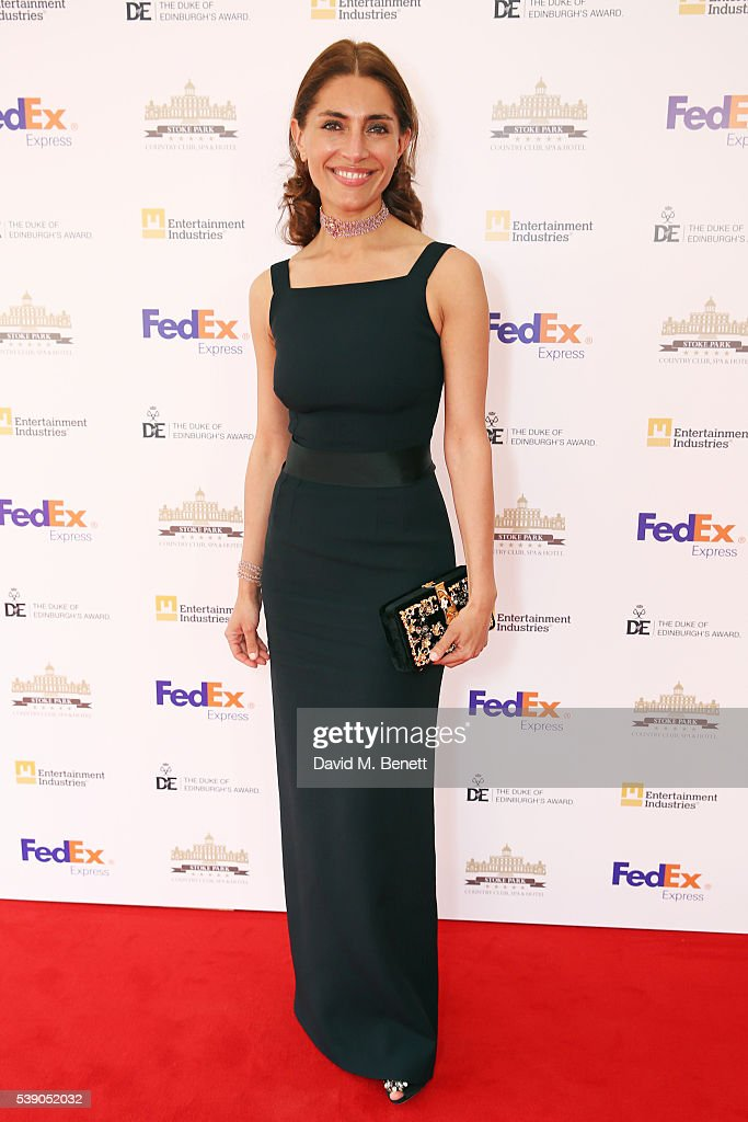<a gi-track='captionPersonalityLinkClicked' href=/galleries/search?phrase=Caterina+Murino&family=editorial&specificpeople=619334 ng-click='$event.stopPropagation()'>Caterina Murino</a> attends the Duke of Edinburgh Award 60th Anniversary Diamonds are Forever Gala at Stoke Park on June 9, 2016 in Guildford, England.